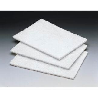 Pad blanc non abrasif 6x9