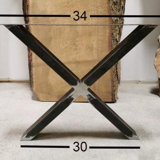 pattes en X pour table